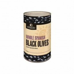 OLIVES BLACK WHOLE SPANISH 4.1kg