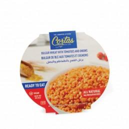 Cortas Ready to Eat Bulgur Wheat with Tomato & Onion 350g